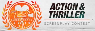 screencraft action and thriller screenplay contest logo